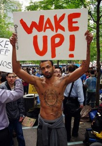 occupy wake up