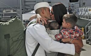 A_Sailor_kisses_his_wife.