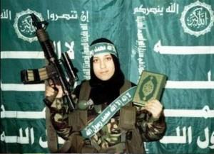 jihadi chick