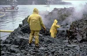 Exxon OilCleanupAfterValdezSpill