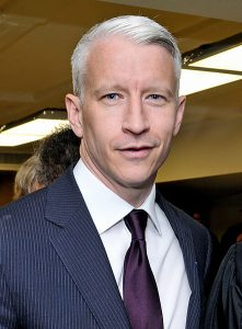 Anderson Cooper Source: Tulane Public Relations.CC-CY, Wikimedia Commons