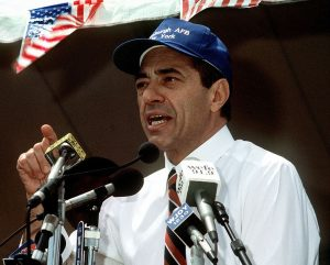 Mario_Cuomo_speaking_at_a_rally,_June_20,_1991