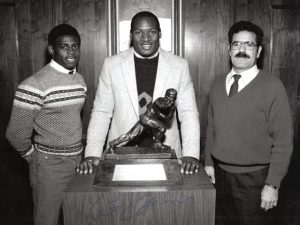 Bo Jackson NY_junior_Heisman_awards_dinner_1985