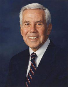 Primaried Republican Senator Dick Lugar, Source: CC-BY, US Senate