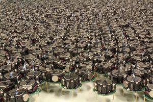 Kilobot swarm